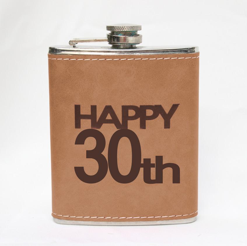 Fém laposüveg 30. születésnap