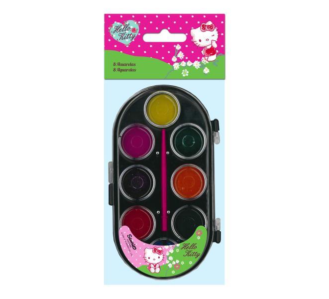 Hello Kitty festék szett - licenszes termék nagyker