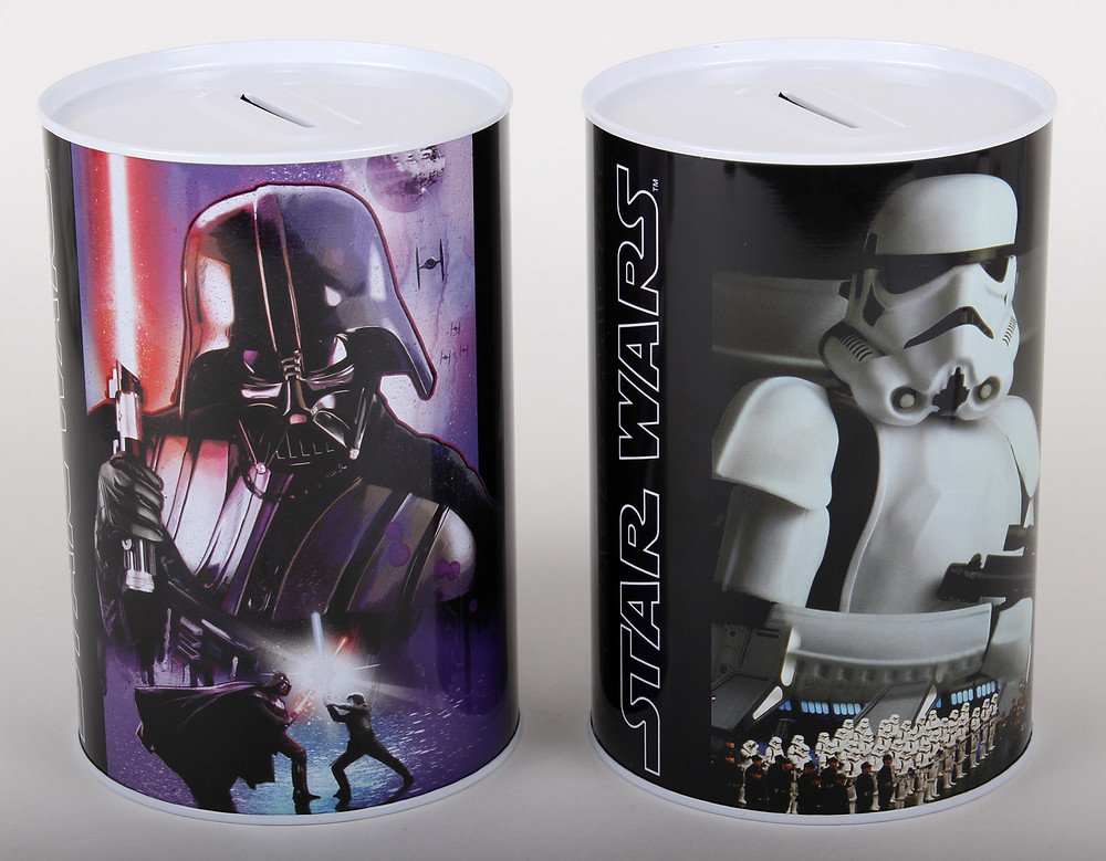 Star Wars - fém persely - fém dobozok