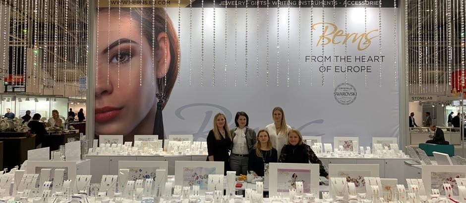 Berns Jewelry invites You to the Inhorgenta München exhibition