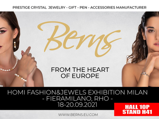 MEET IN PERSON! HOMI FASHION & JEWELS EXHIBITION - MILAN 18-20 09 2021