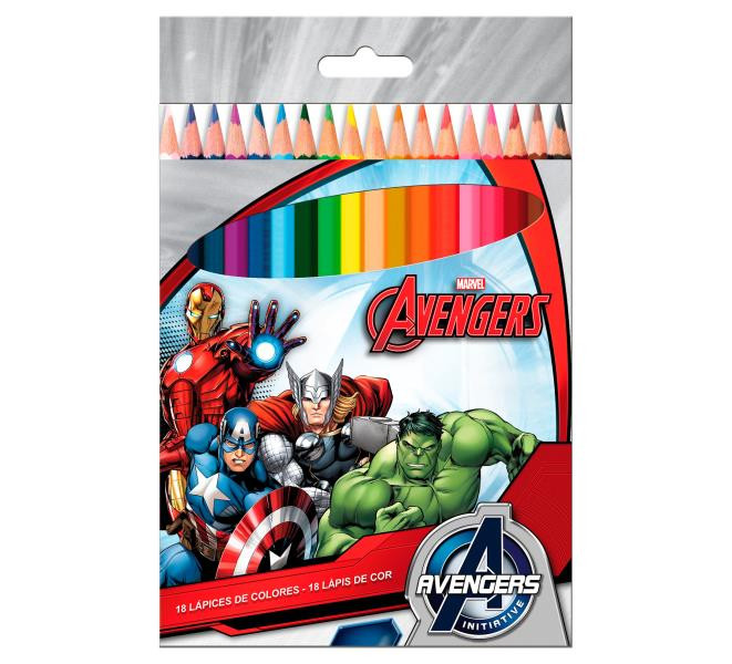 Avangers színes ceruza készlet - licenszes termék nagyker