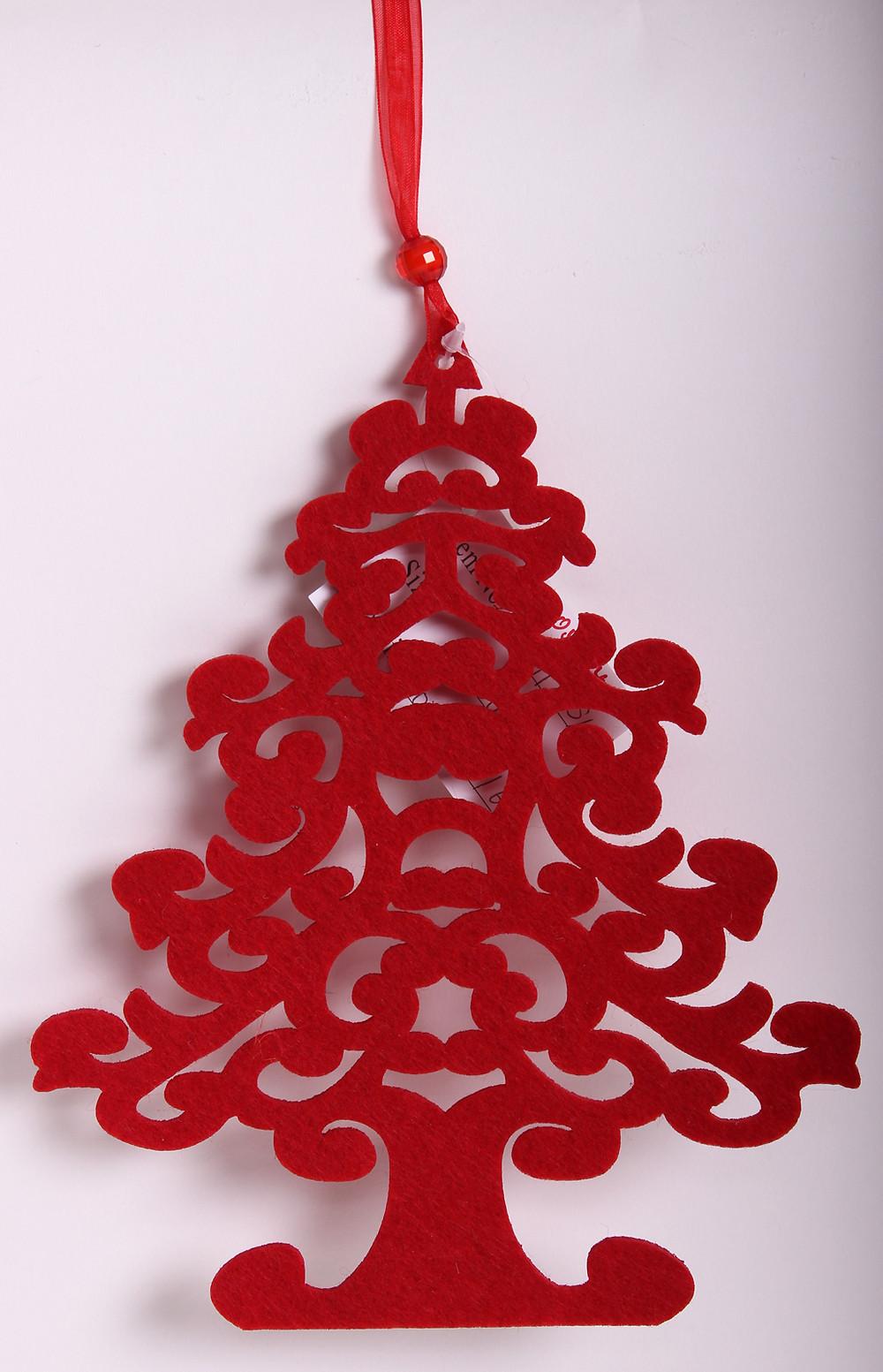 Karácsonyi díszek - filcdekor - karácsonyi termékek