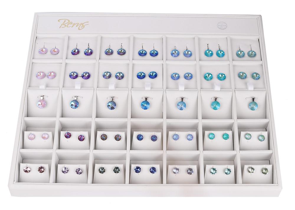 Berns Jewelry with original Swarovski Crystals