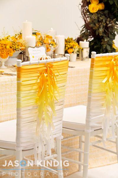 Ombre esküvői székdekoráció - esküvői helyszín Pécs - Slyven Étterem és Esküvő Pécs