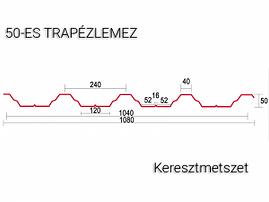 T50-trapézlemez