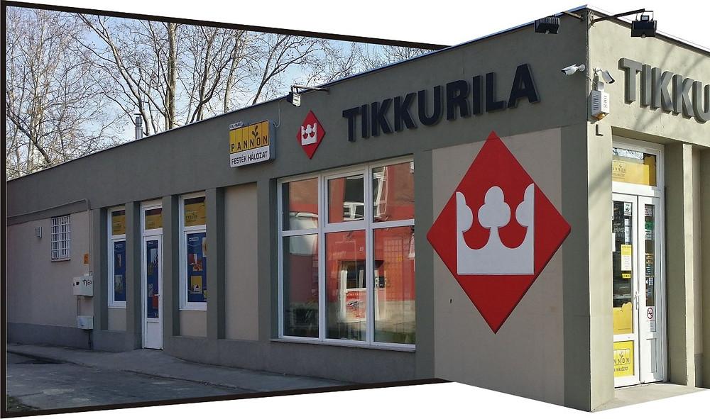 Tikkurila Pannon Festéküzlet Pécs, Ybl M.u.3.