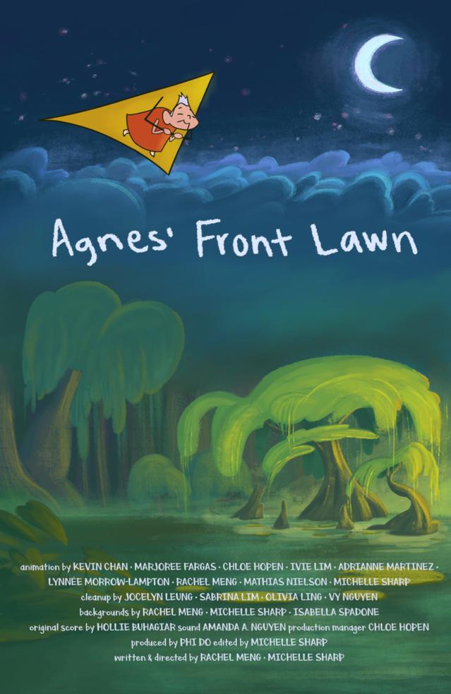 Agnes Front Lawn (2019)