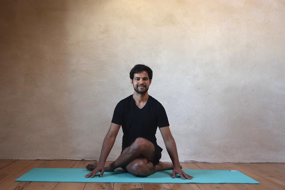 malasana squat yin yoga pose Philipp Sharma