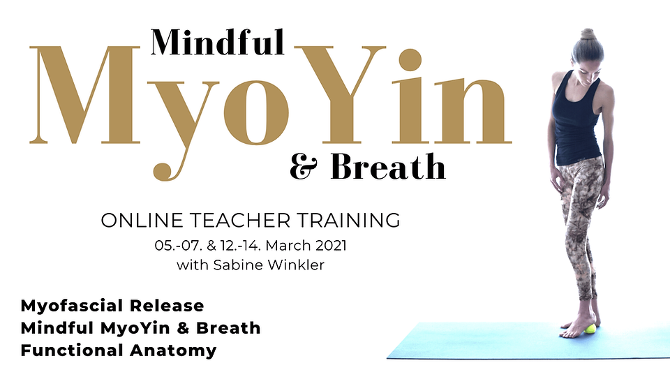 Mindful MyoYin and Breath Sabine Winkler