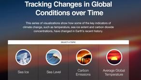 NASA Interactive Climate Time Machine