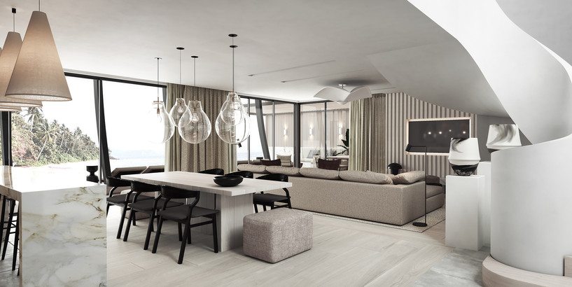 LUX Grand Baie - LUX Grand Beach Pool Villa Dining and Living Area.jpg