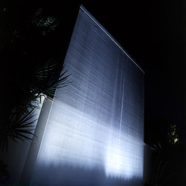 Wall of water - Israel