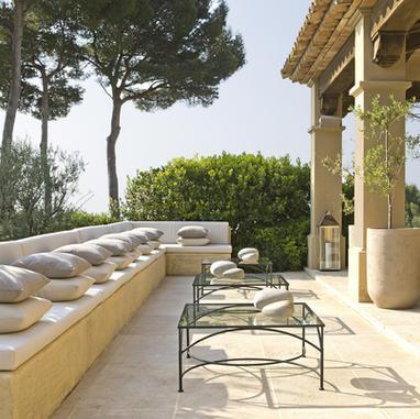 Garden terrace - Cannes, France