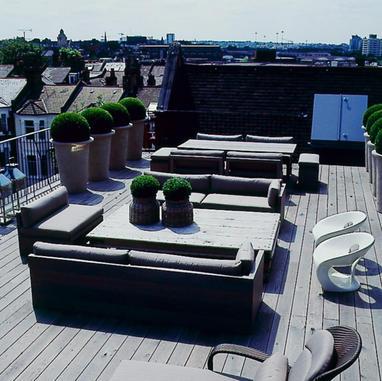 Roof terrace - London, UK