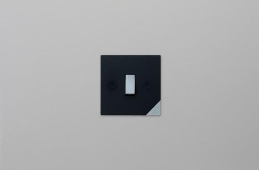 Corner Black and Satin Chrome Straight.j