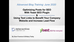 How to Optimize Your Post for SEO using Yoast plugin...