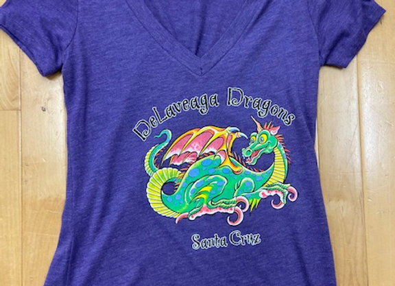 Ladies t-shirt, purple