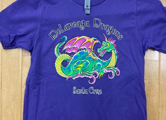 Youth t-shirt, purple