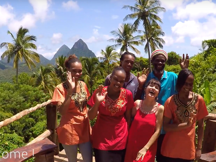 Inspired Interviews: Meet the Amazing Owners of the Tropical Rainforest Resort at Crystals, St Lucia