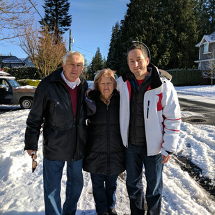Dad, Mom and Me