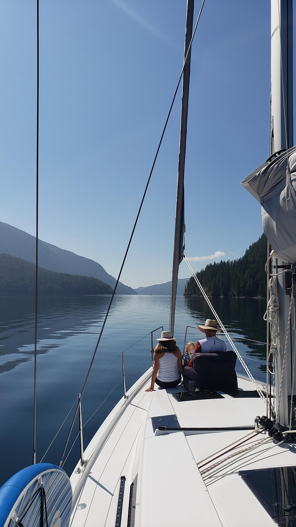 Sailing in Desolation Sound, BC