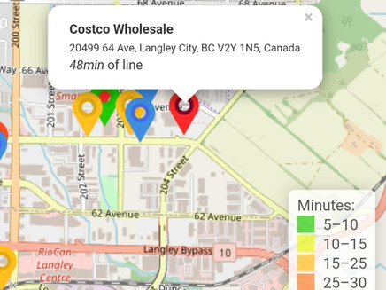 How Long Is the Wait at Your Grocery Store? A New Pandemic App Has You Covered: COVID-19 Time Saver