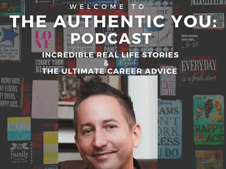 Welcome to The Authentic You Podcast Launching Monday July 26th!