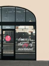 The Dance Shoppe Branding