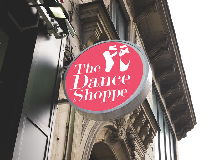 The Dance Shoppe Branding