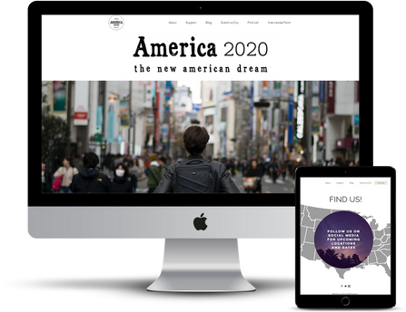 America 2020 Project Website