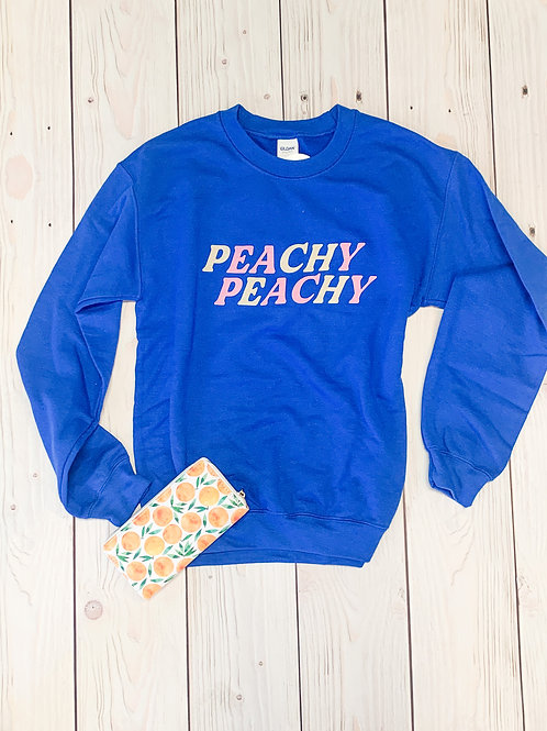 Peachy Peachy Sweatshirt