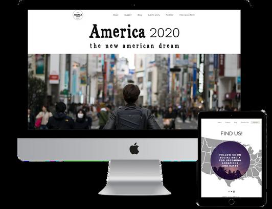 America 2020 Documentary Branding