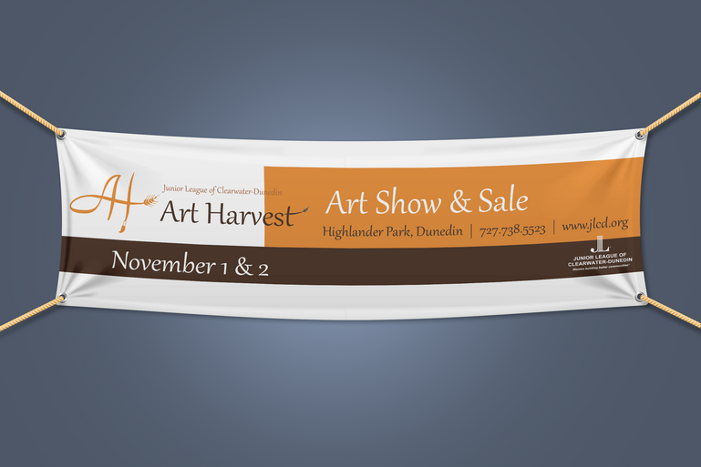 Junior League Art Harvest Banner