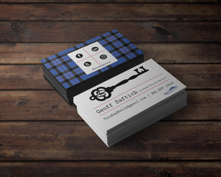 Geoff Saftich Business Cards