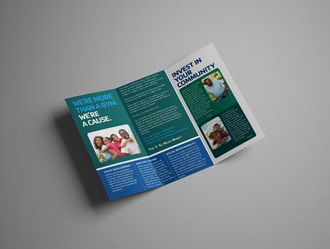 YMCA Fundraising Brochure