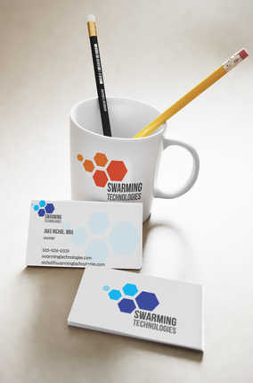 Swarming Technologies_Business Card Mock