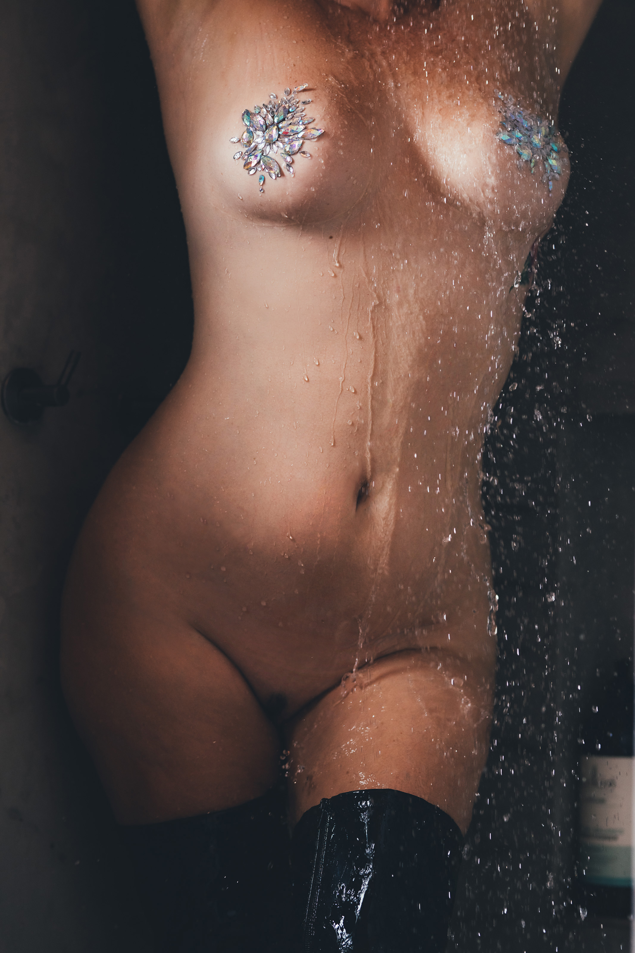 Elle Lush Perth Escort Nude Shower 348.j