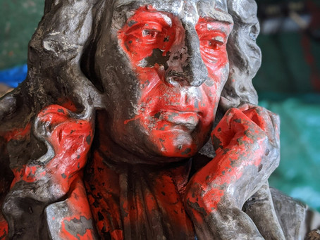 From Statue to Effigy - words on the fall of Edward Colston