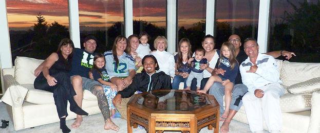 Radke Family in Seattle during Christmas 2015