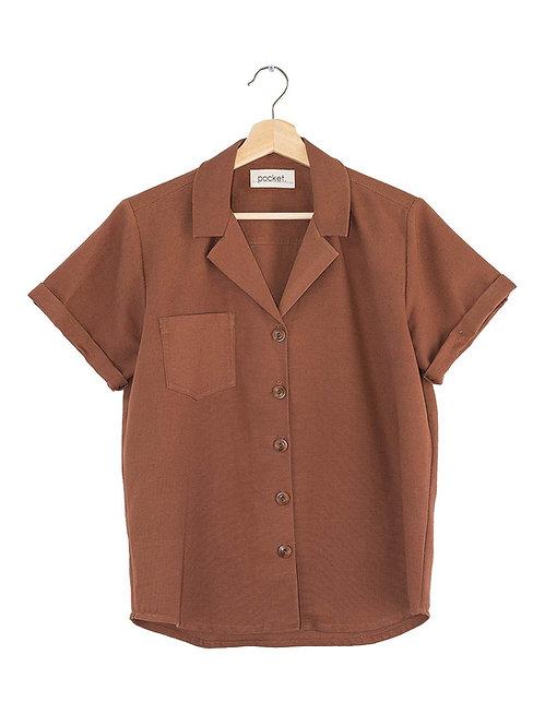 The Bracken Shirt: Linen/Cotton
