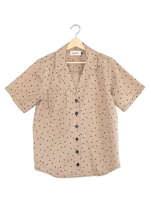 The Bracken Shirt: Polka Dot