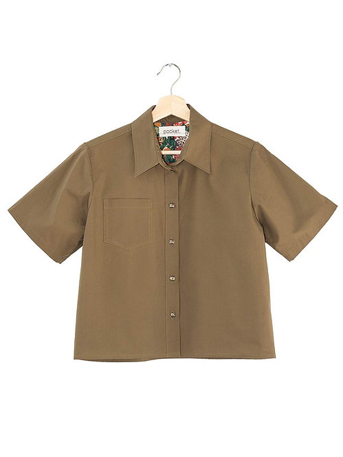 The Bracken Shirt: Cropped
