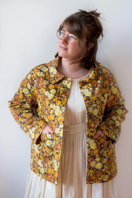 The Jackson Jacket: Sunshine Floral