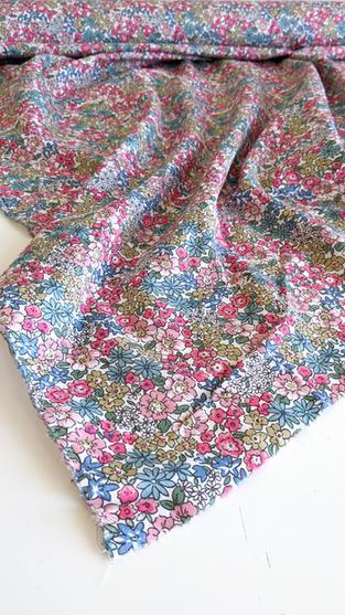 Pastel Floral Tana Lawn