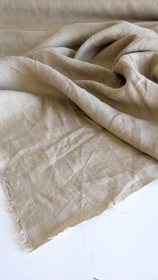 Sand Irish Linen