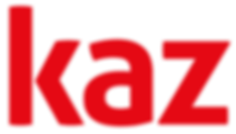 Kaz Logo Bright Red.png