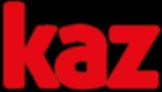 Kaz Logo Bright Red.png