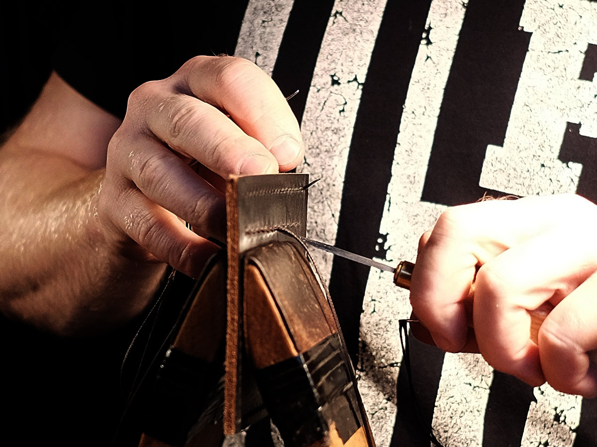 Saddle Stitch – Traditional