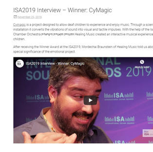 ISA2019 Interview – Winner: CyMagic